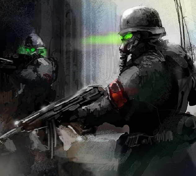 Nazi Soldiers by Eco Flex NodsRe