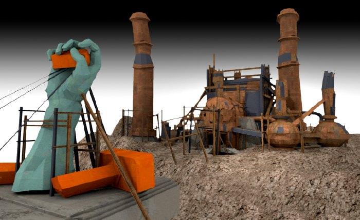 Ren2 Scavenger Refinery Render 6