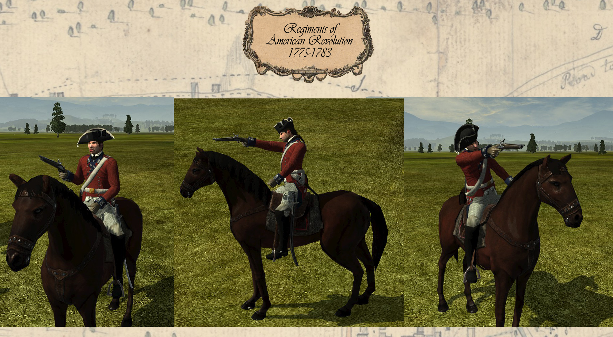 Cavalry Pistols Multiview