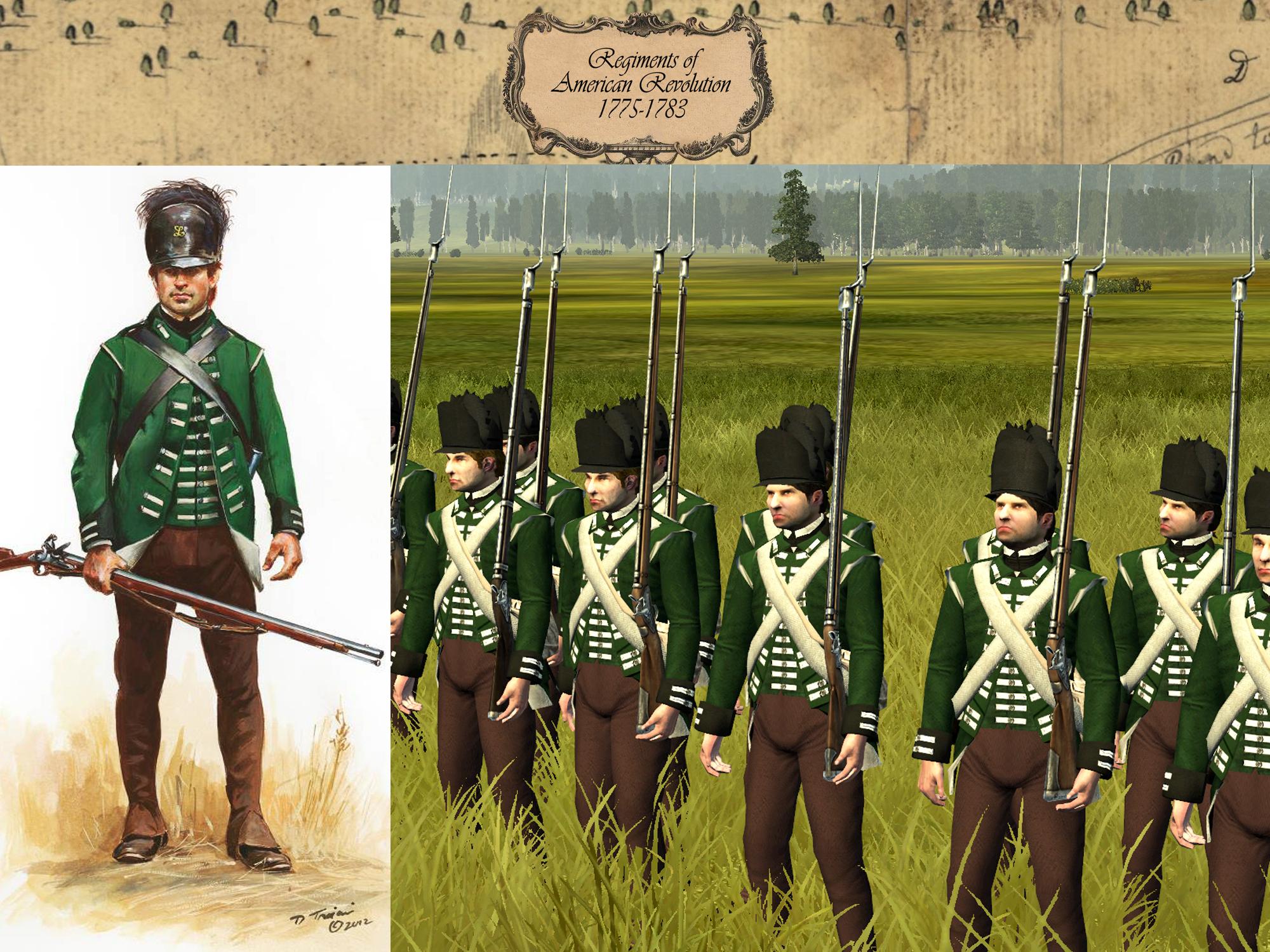 Revolutionary War Uniform 120