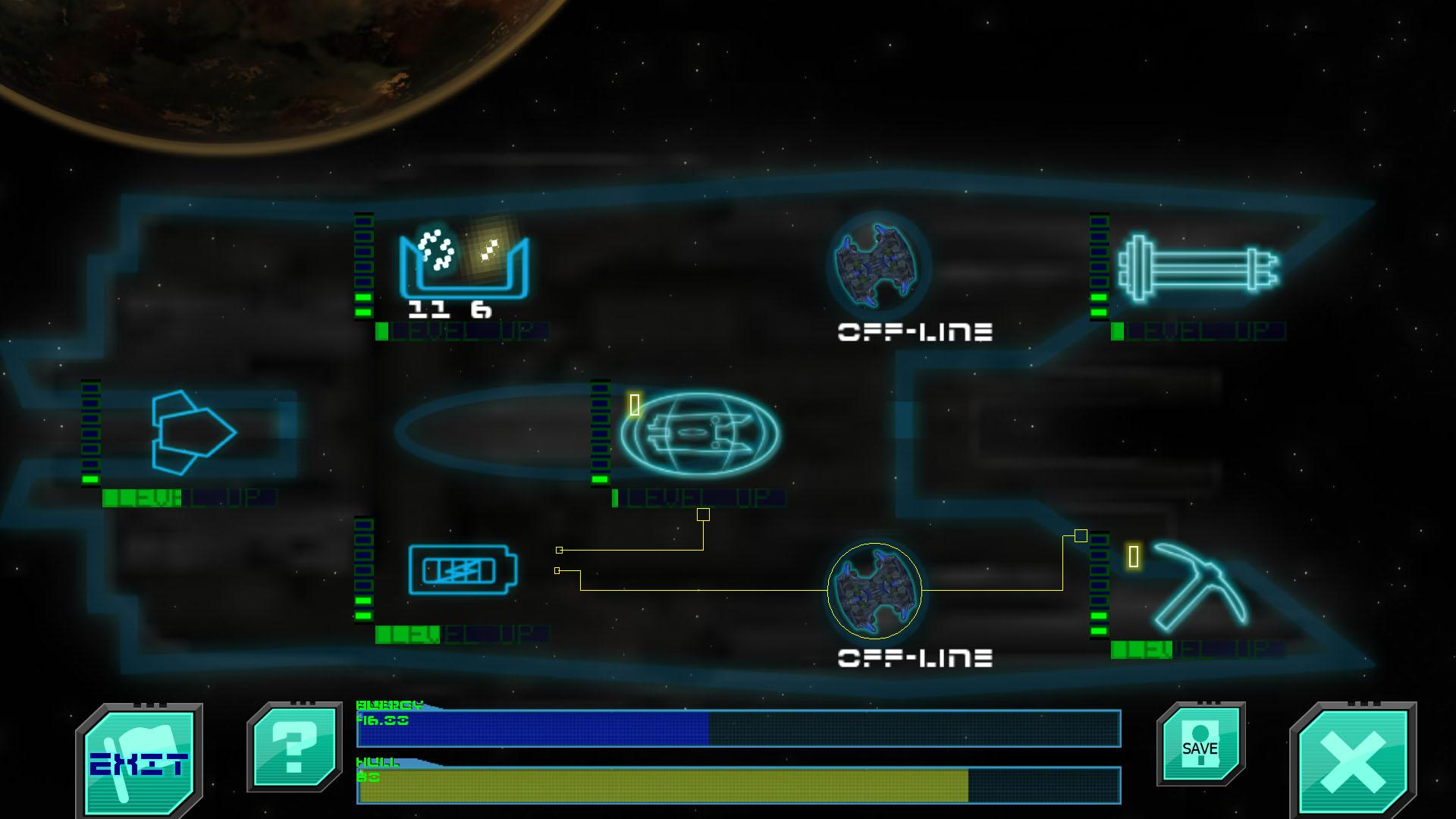 Hyper Dark Ship Console 2