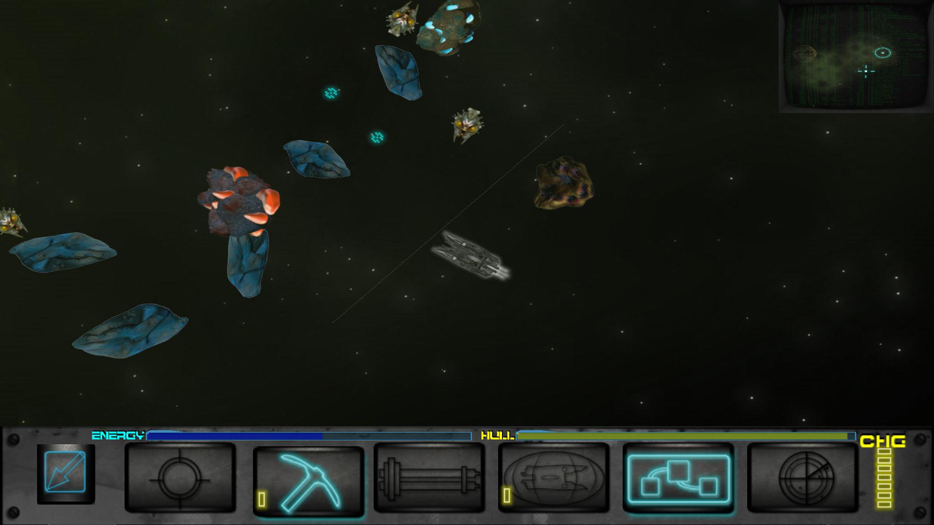 Hyper Dark Strange Asteroids 1