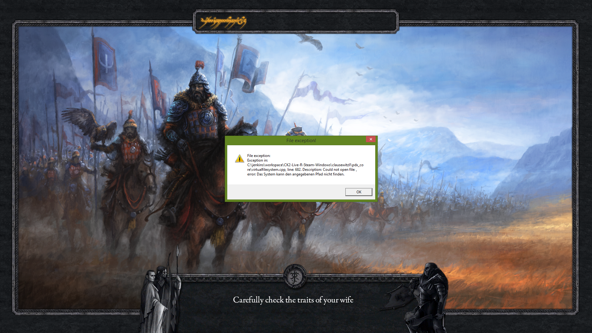 specific dates 05 1b crashes Thread - CK2: Middle Earth