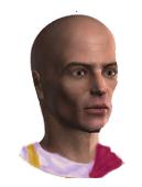 Roman Male Toga 1