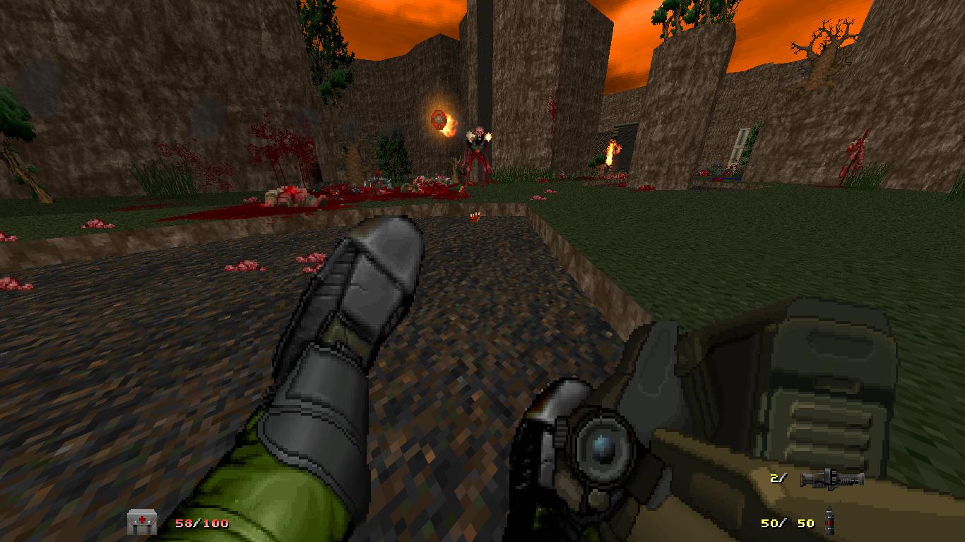Brutal Doom Player Skins