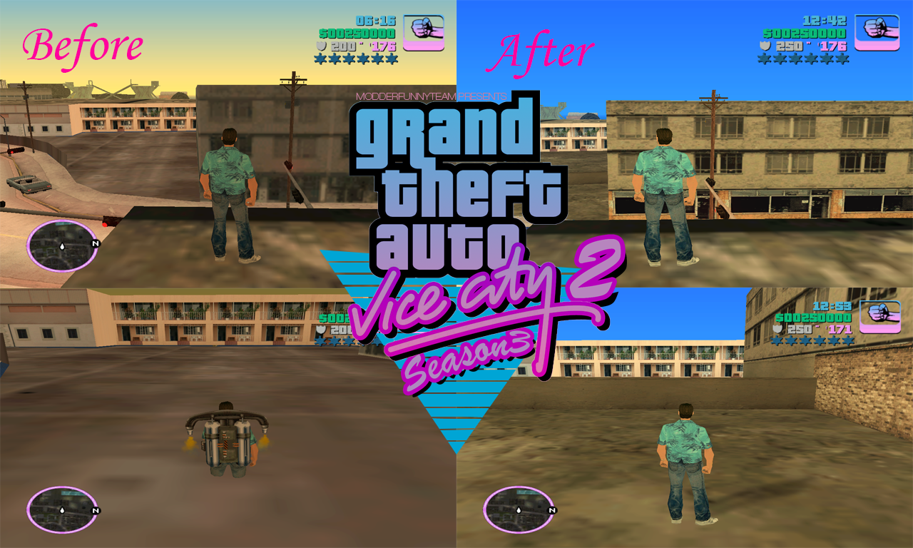 GTA Vice City 2 Season 3 mod for Grand Theft Auto: San