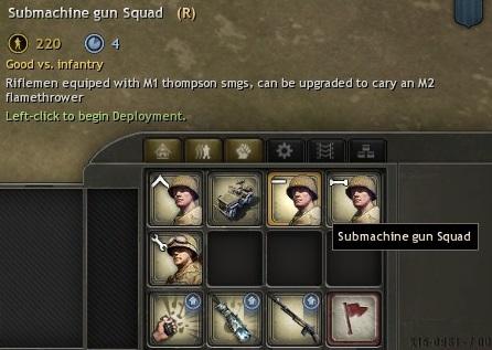 sub machine gun unit disc