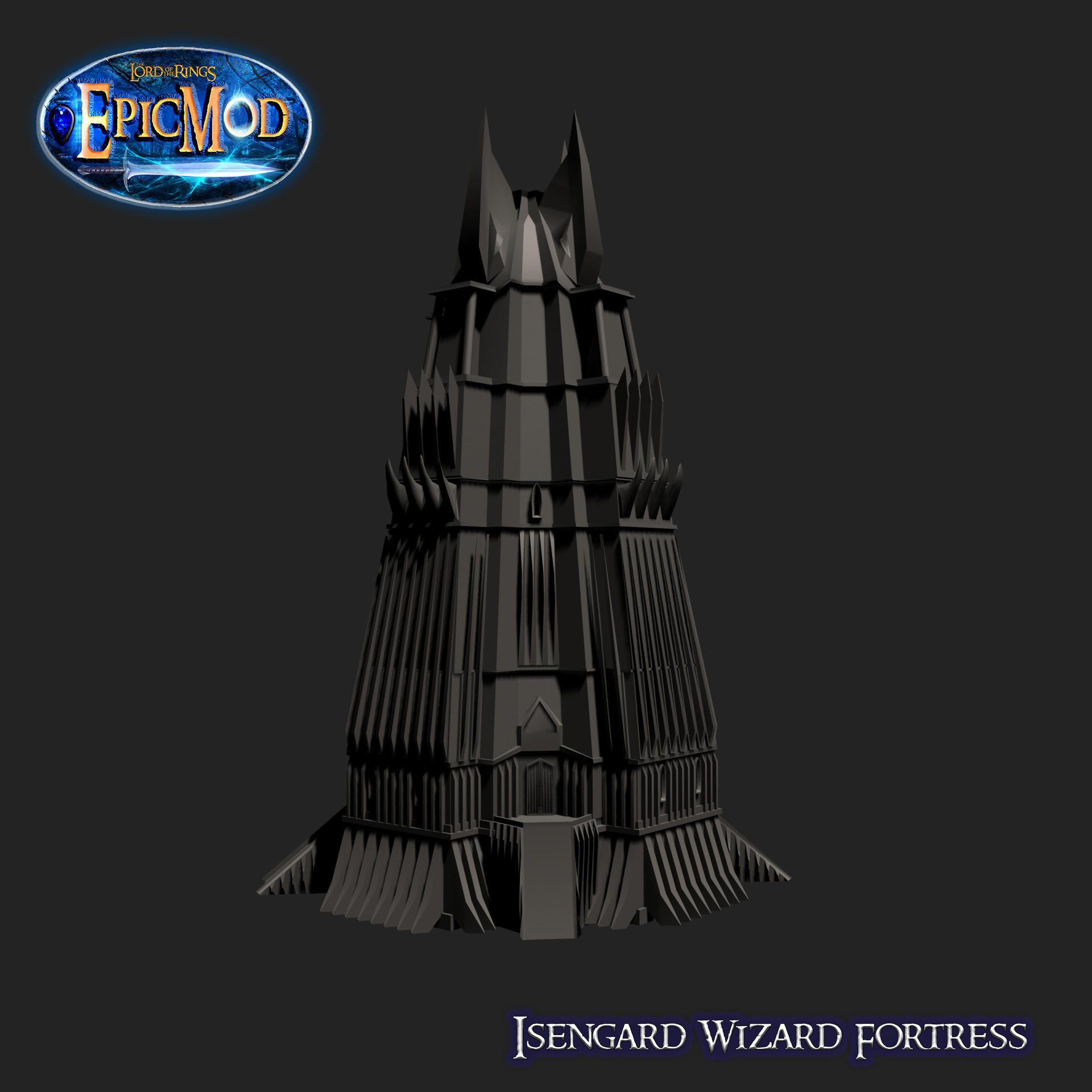 Isengard Wizard Fortress 1