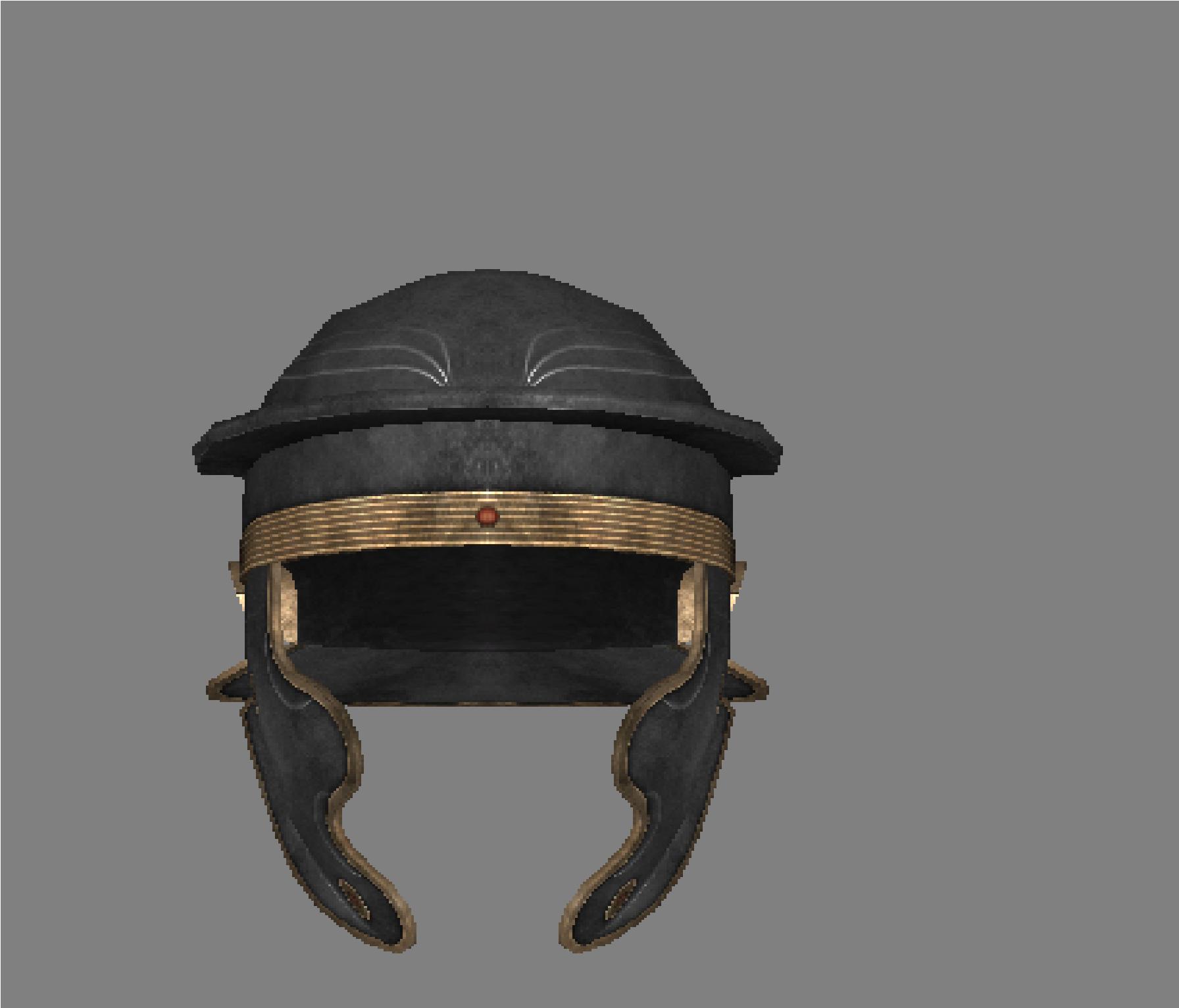 New legionary helmet