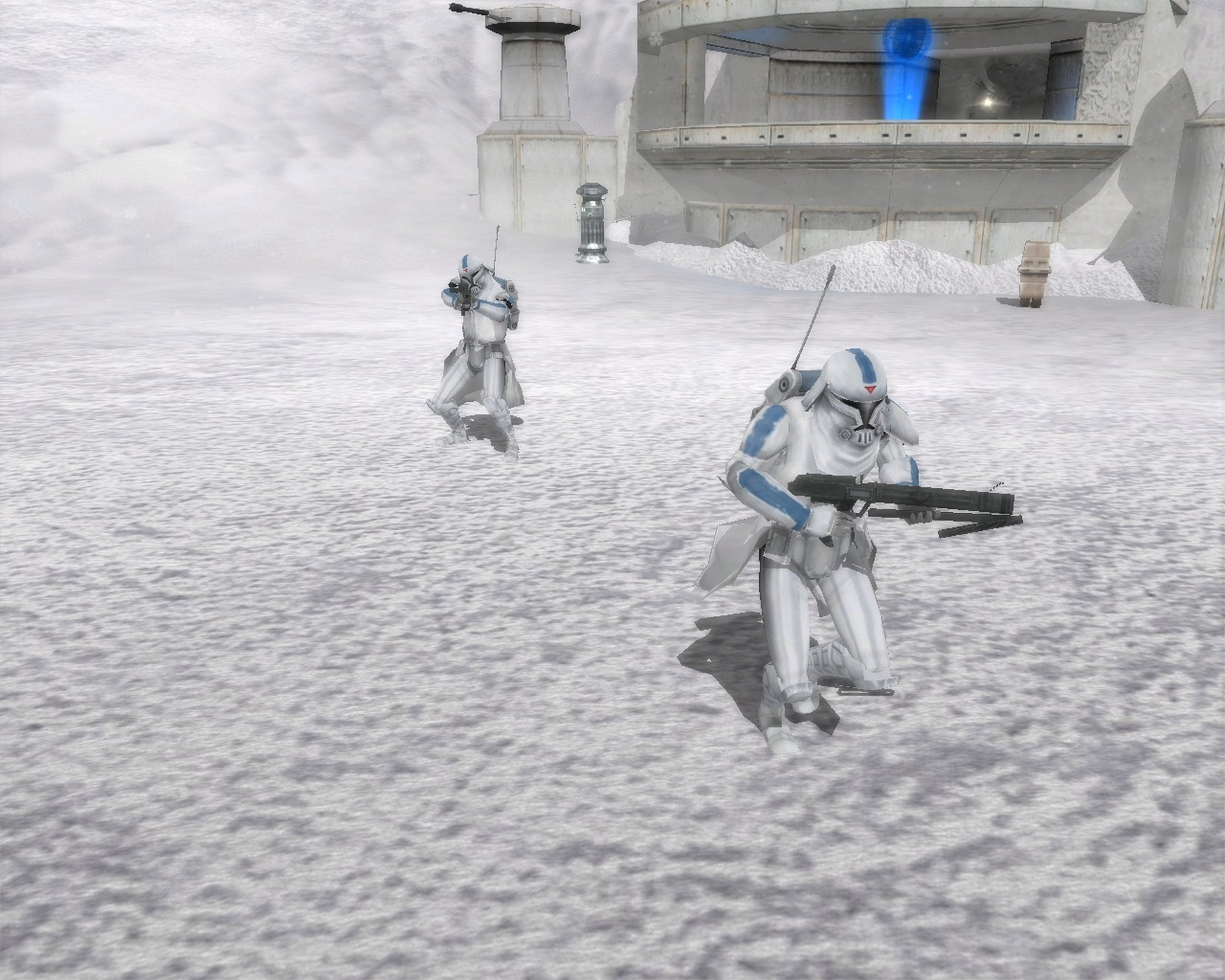 501st Cold Assault troopers