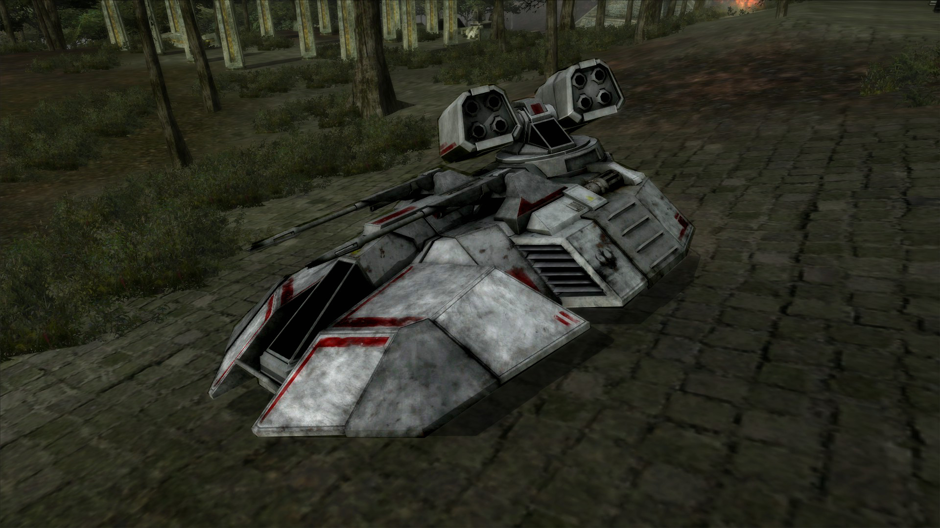 SWBF 3 Hover tank