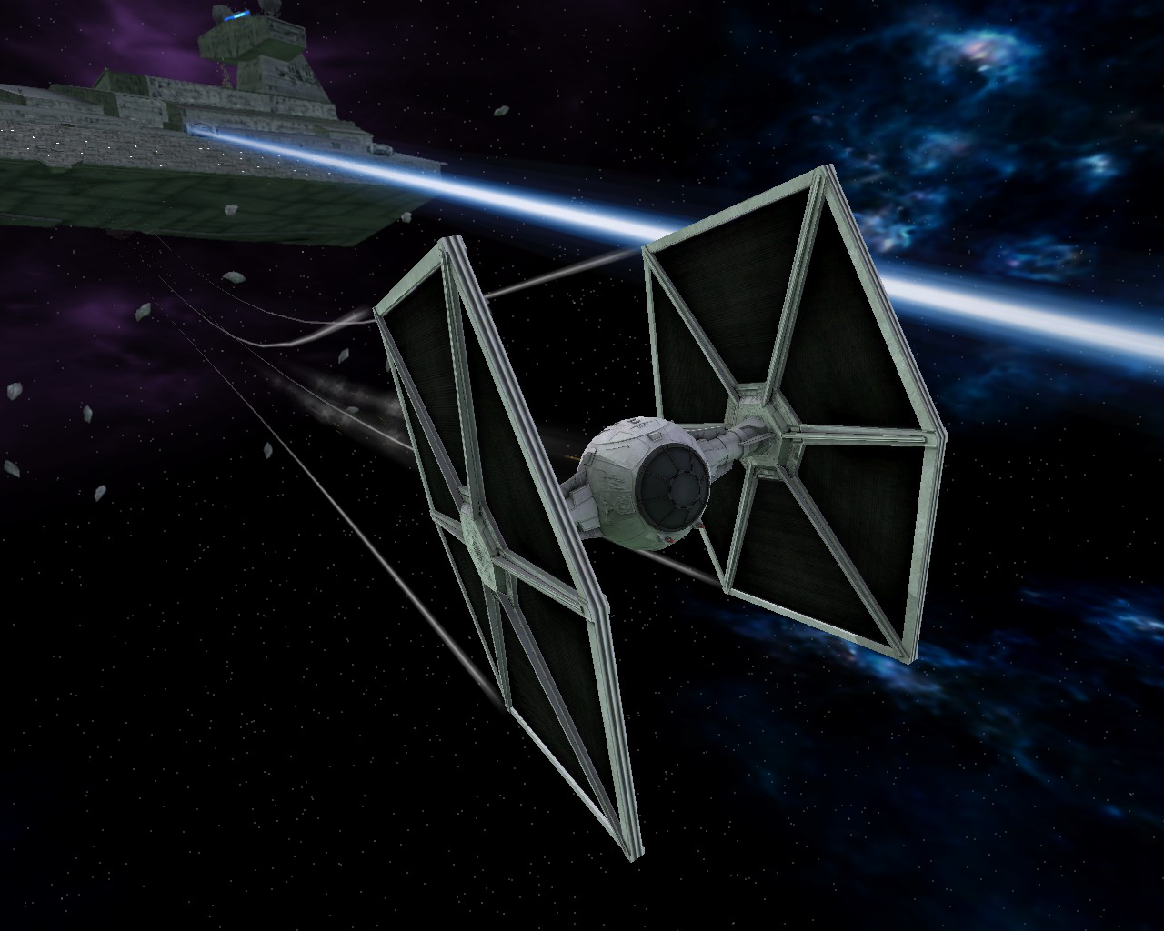 Updated Imperial TIE Fighter