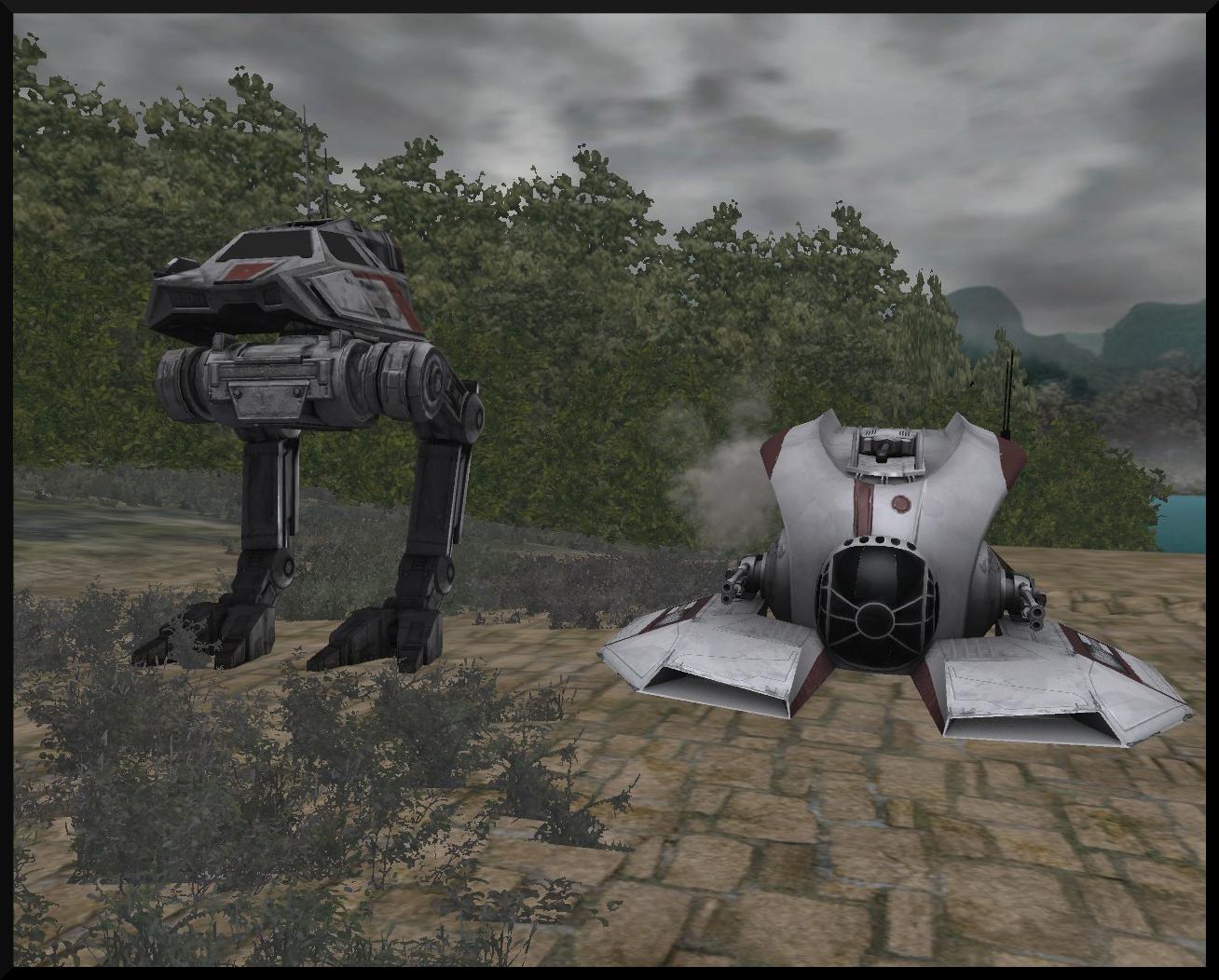 SWBF III AT XR Walker Clone Ho