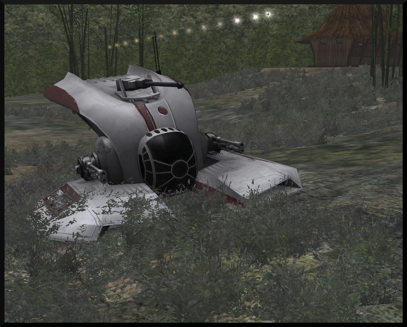 SWBF III Clone Hover Tank