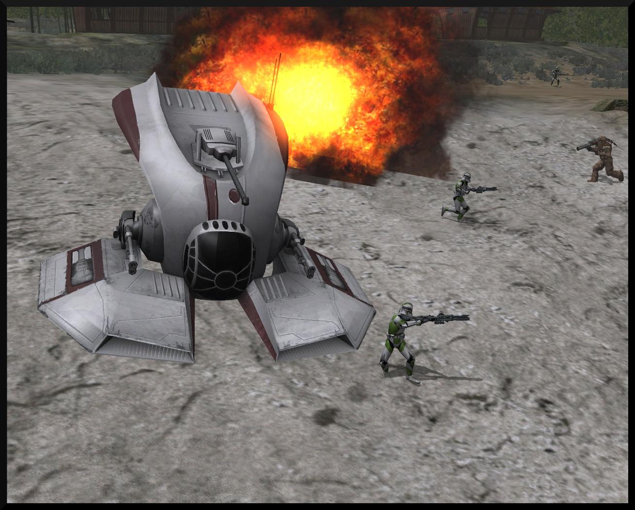 SWBF III Clone Hover Tank 2