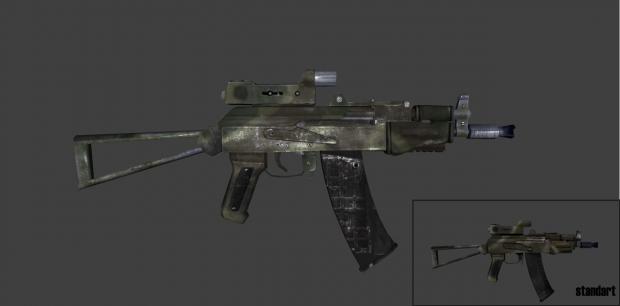AK-74u original DICE texture