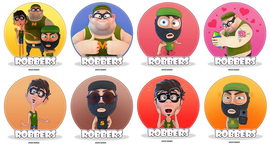 The Robbers Telegram Stickers
