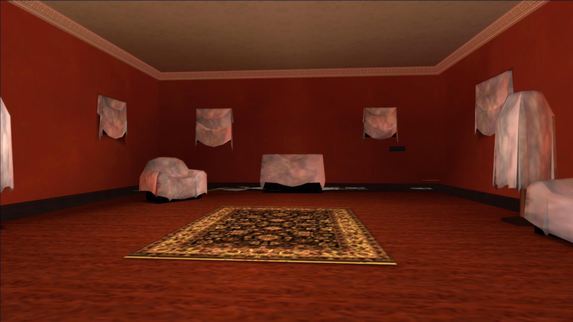 The updated Catalina's mansion interior