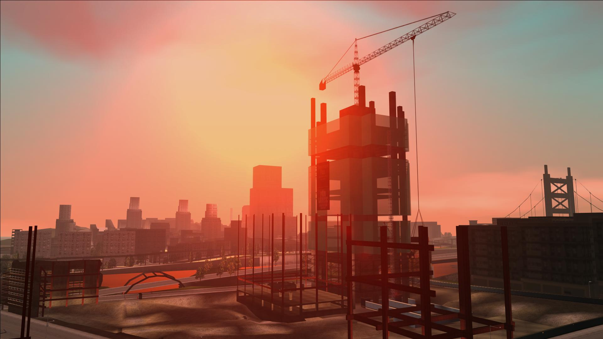 The new sun size code as seen on GTA: III weather