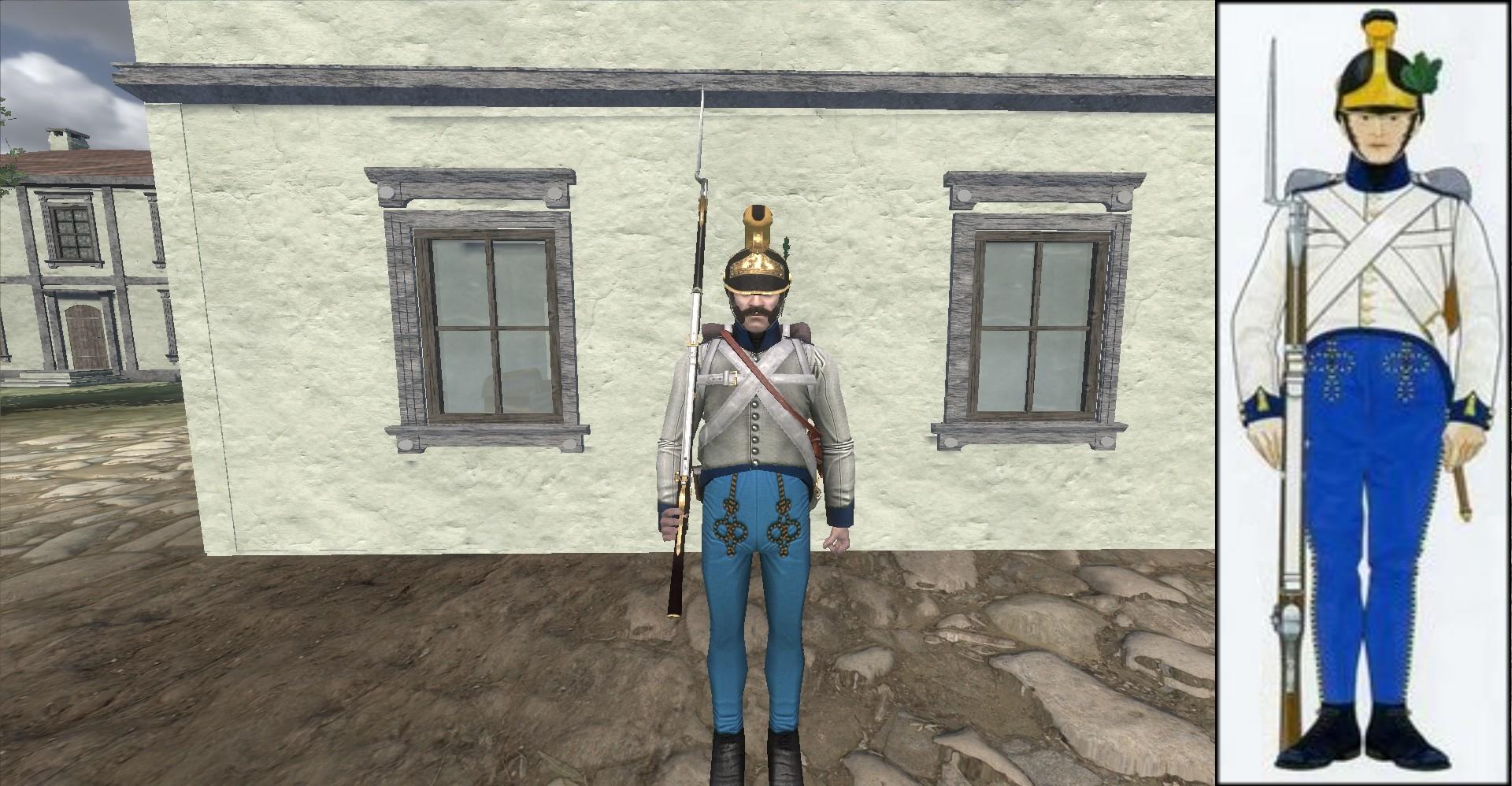 Infantrie Regiment Spenyi Brigade Nr. 6