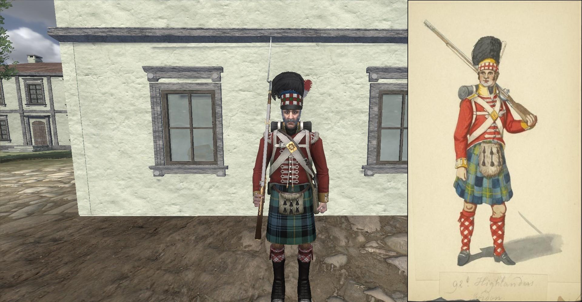 92nd gordon highlanders