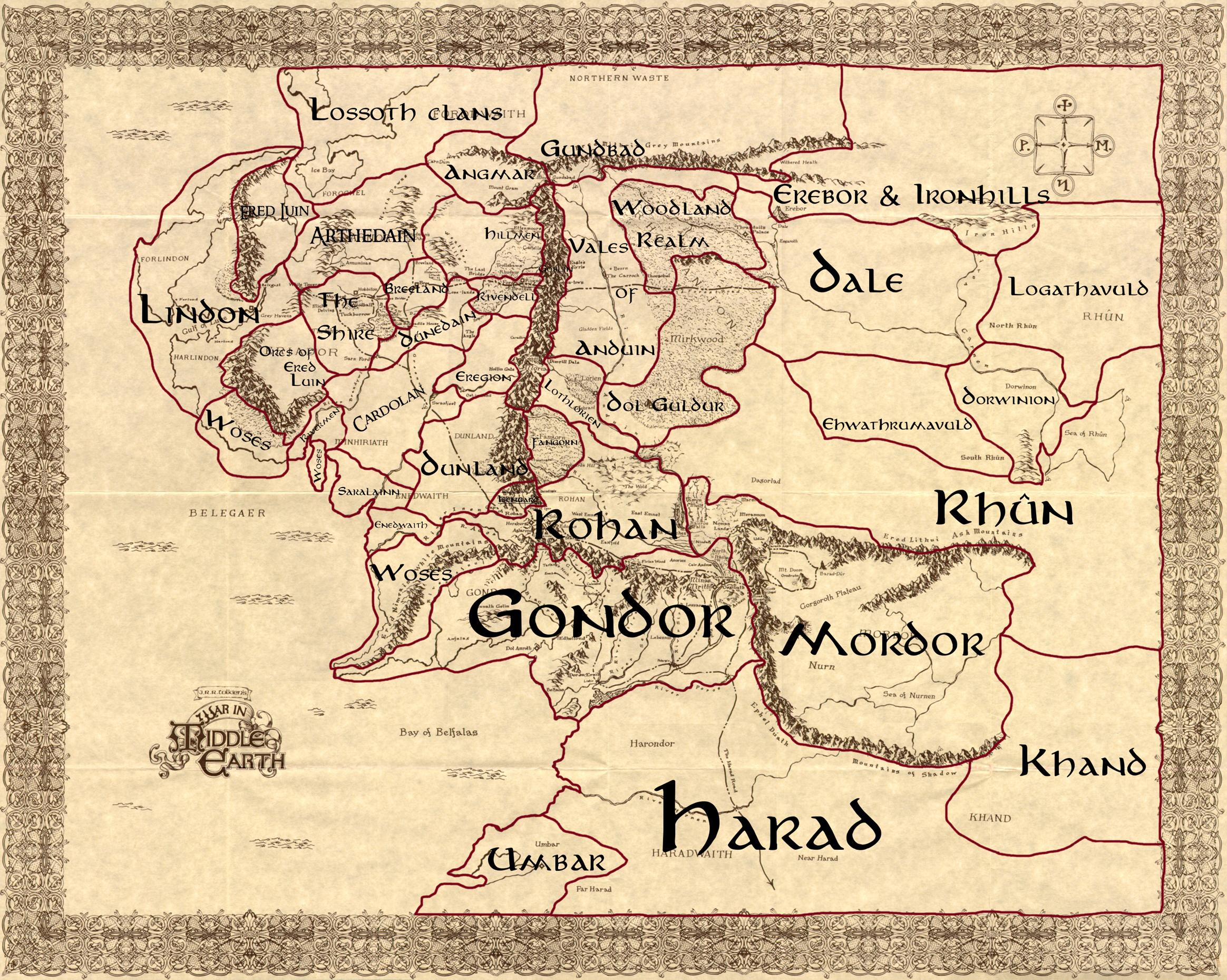 [SP] [MP] Kingdoms of Arda Map1