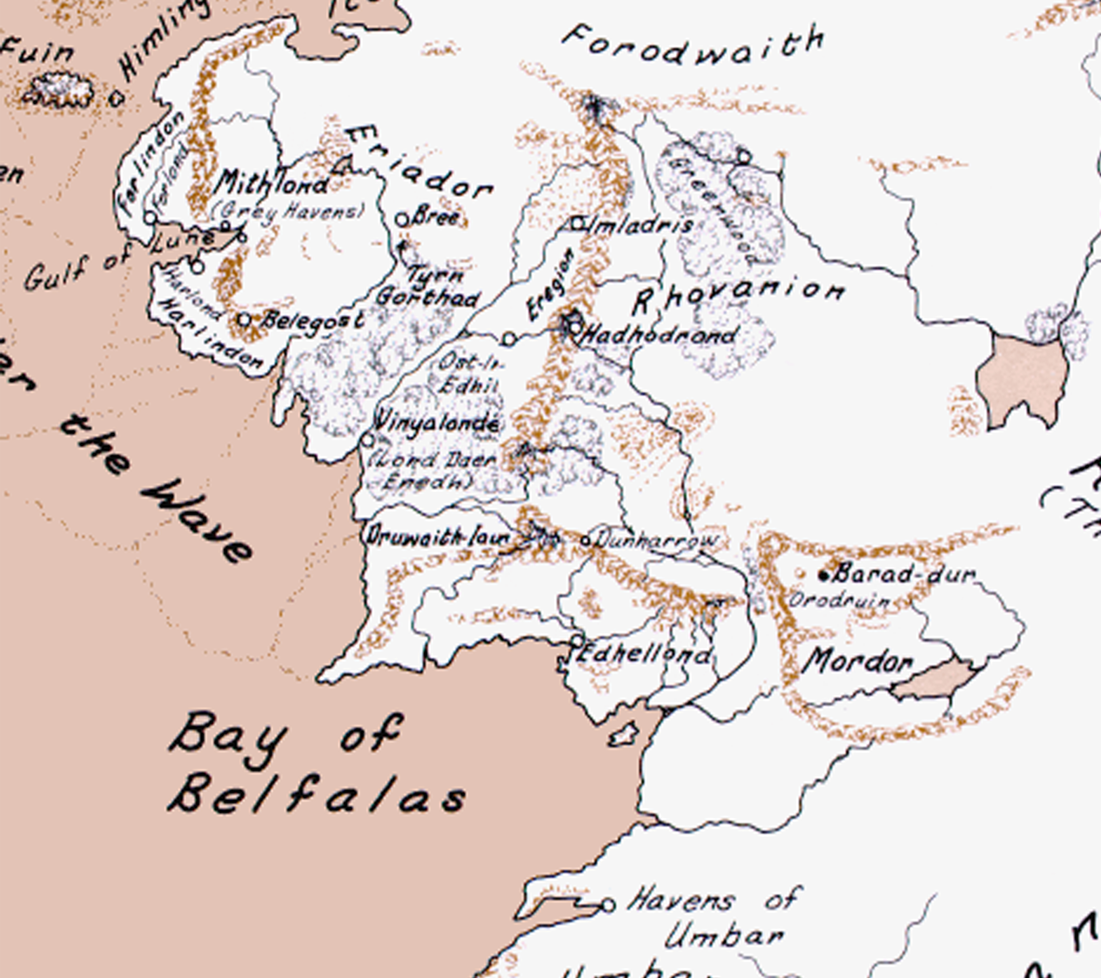 Factions news - Kingdoms of Arda mod for Mount & Blade II ... on lord of the rings map, the hobbit map, kingdoms of middle earth buildings,