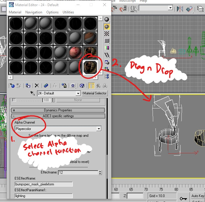 3dsmax8 create shader 4