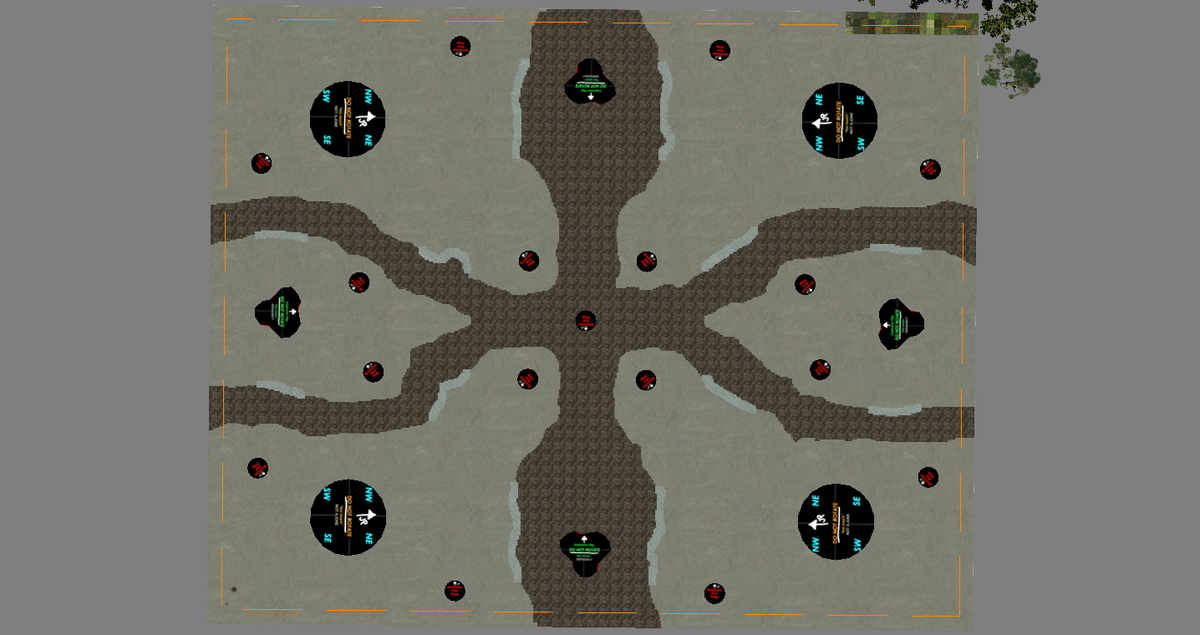 Map Shapes bmp