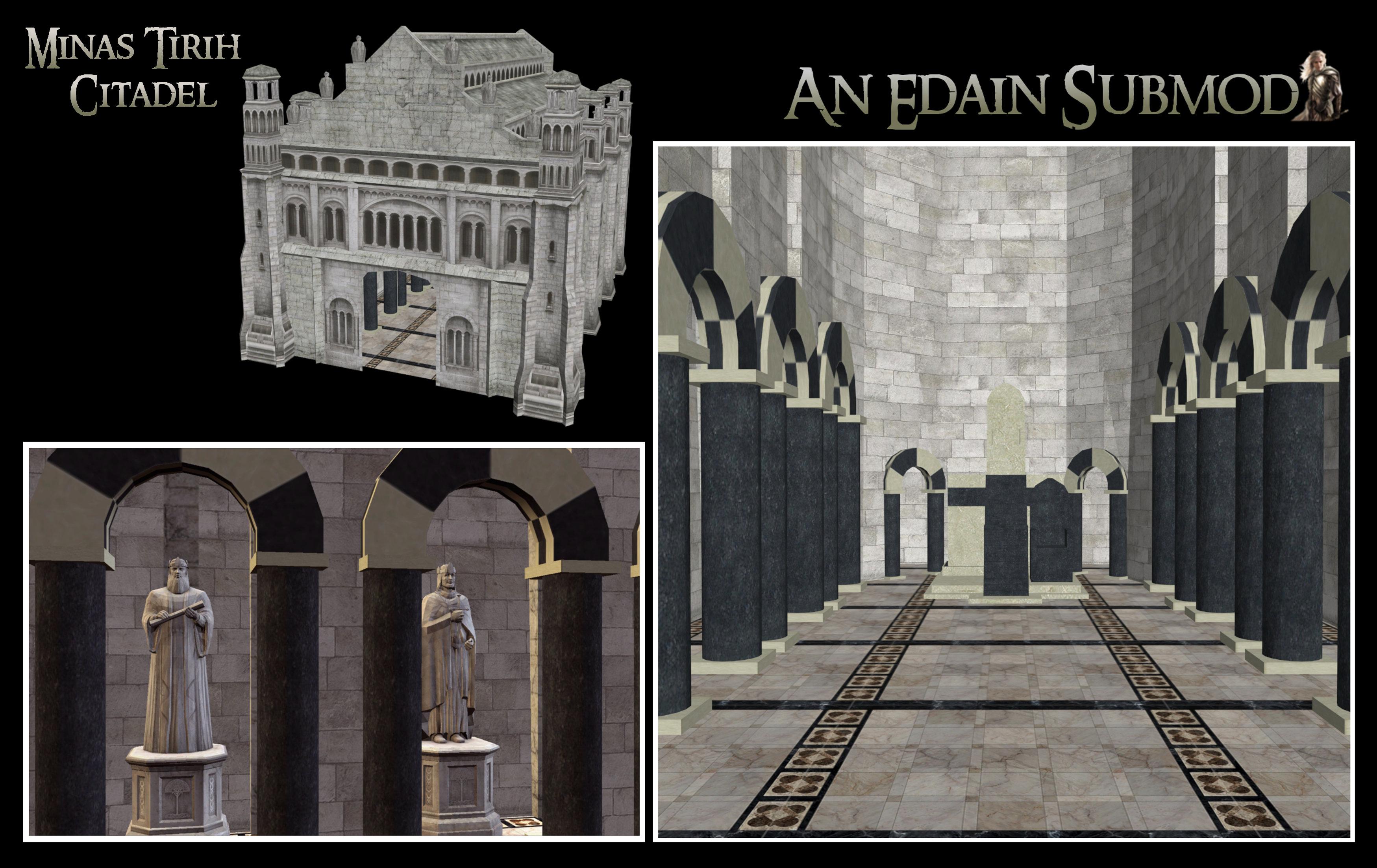 Minas Tirith Citadel Updated