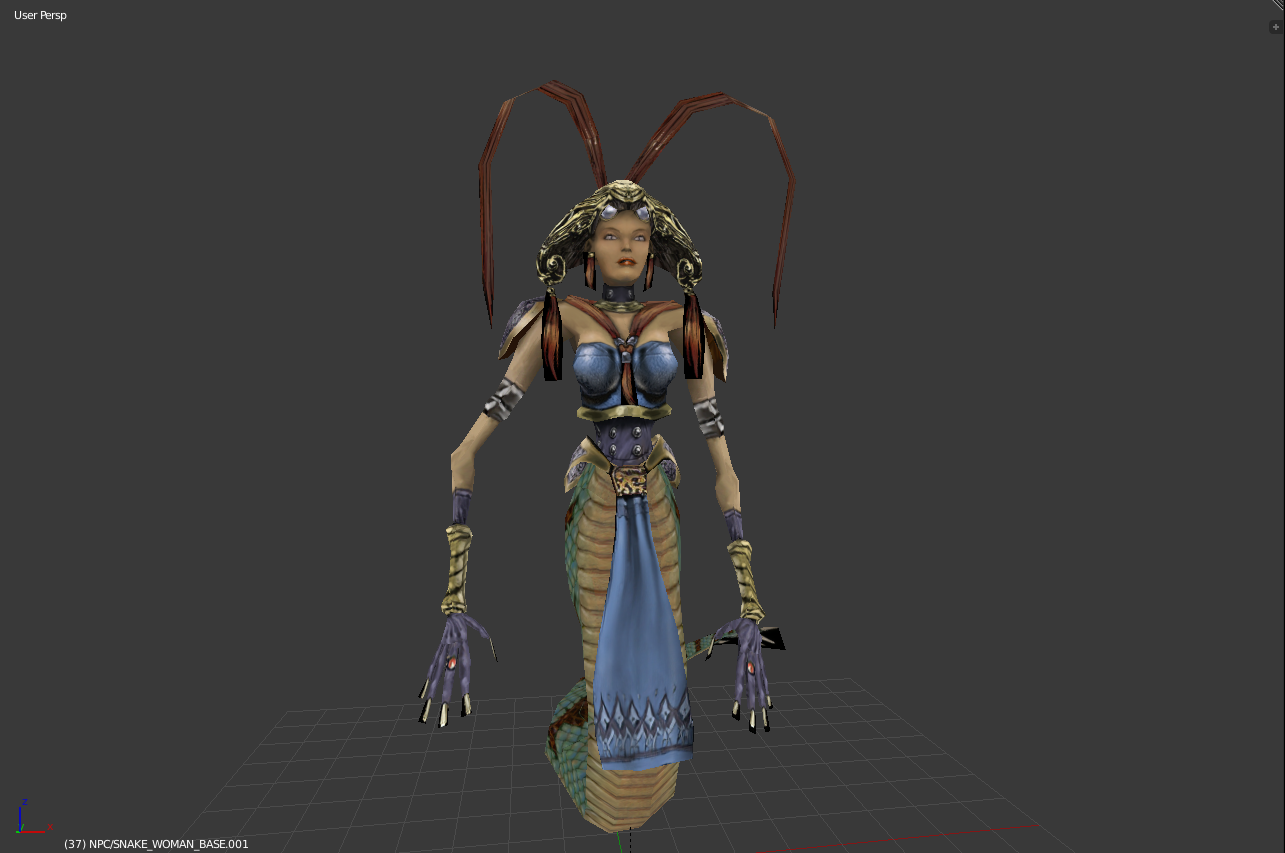 Snake woman arx fatalis ue4