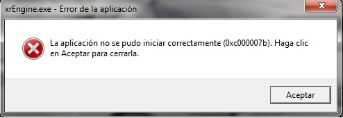 ERROR 0XC