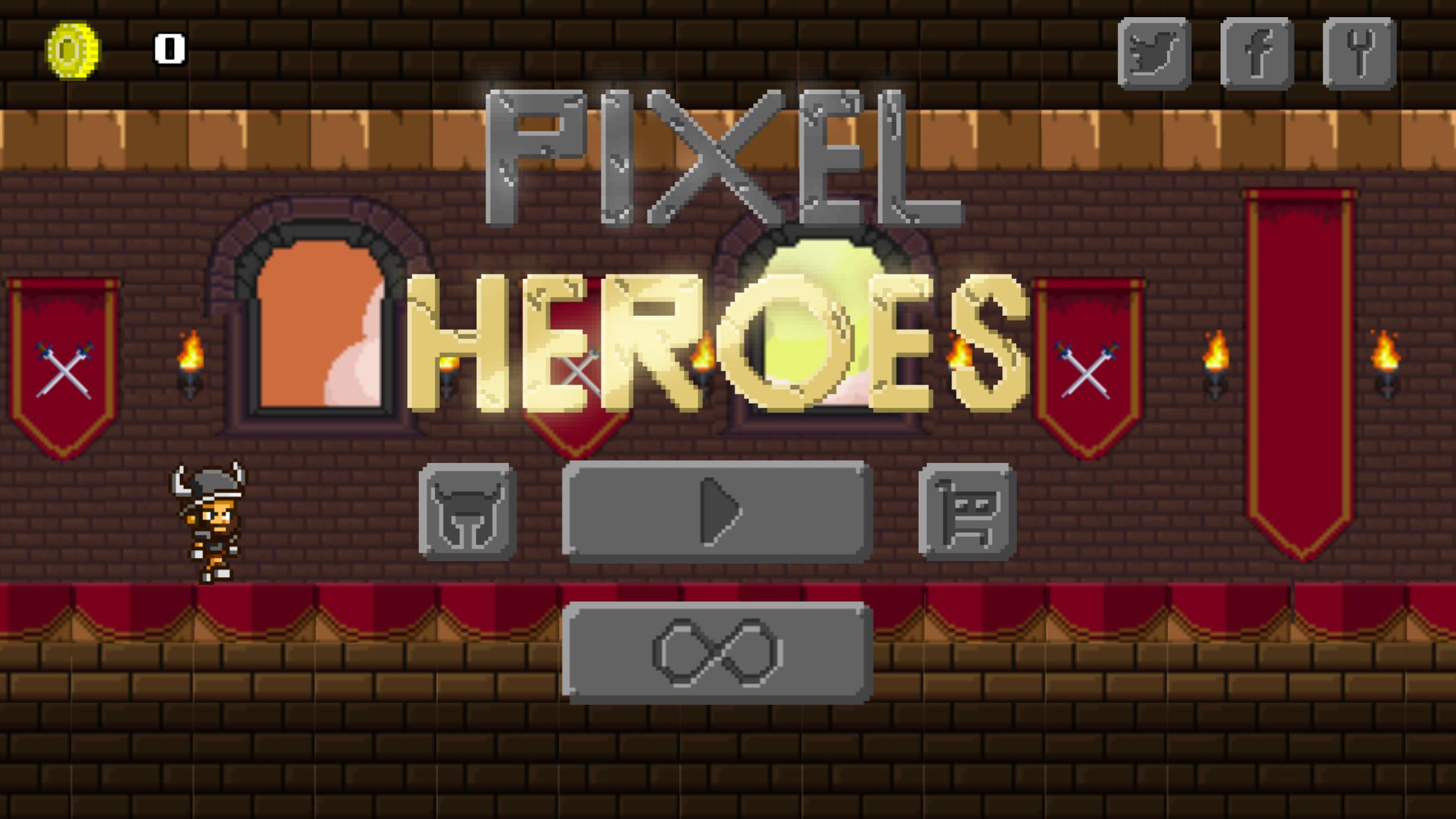 1 Pixel Heroes Start