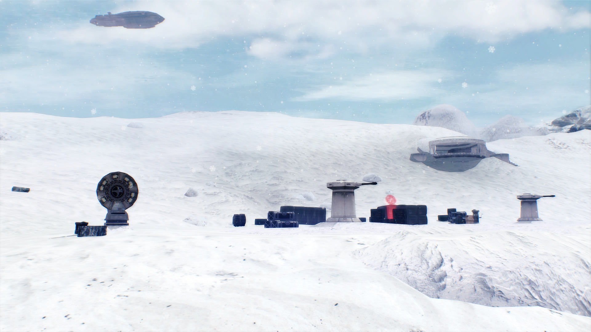 Hoth imperial outpost