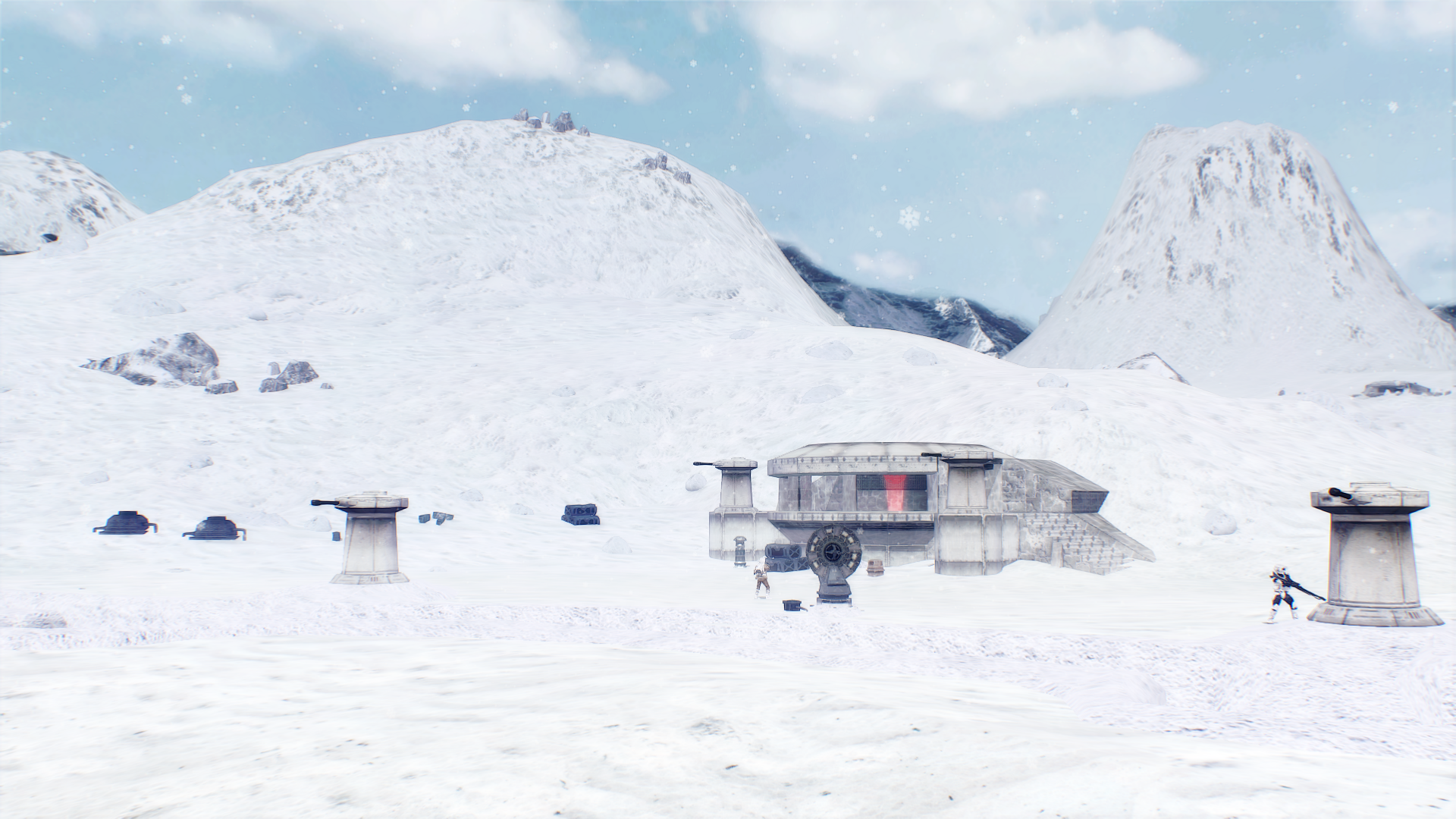 Hoth bunkers 2