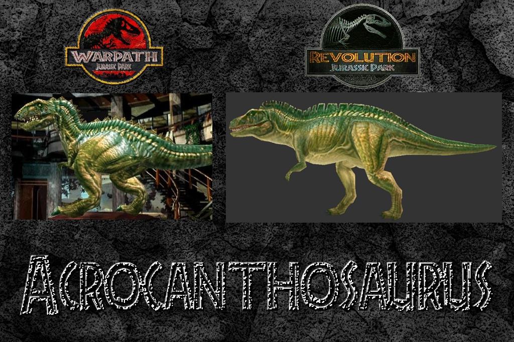 Acrocanthosaurus comparison