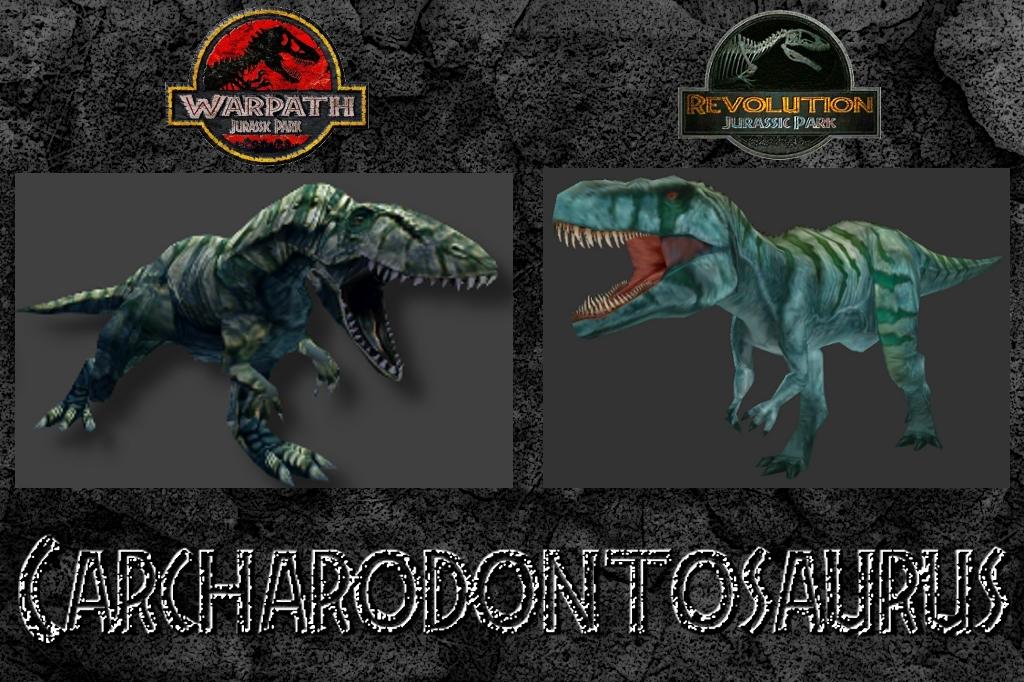 Carcharodontosaurus comparison