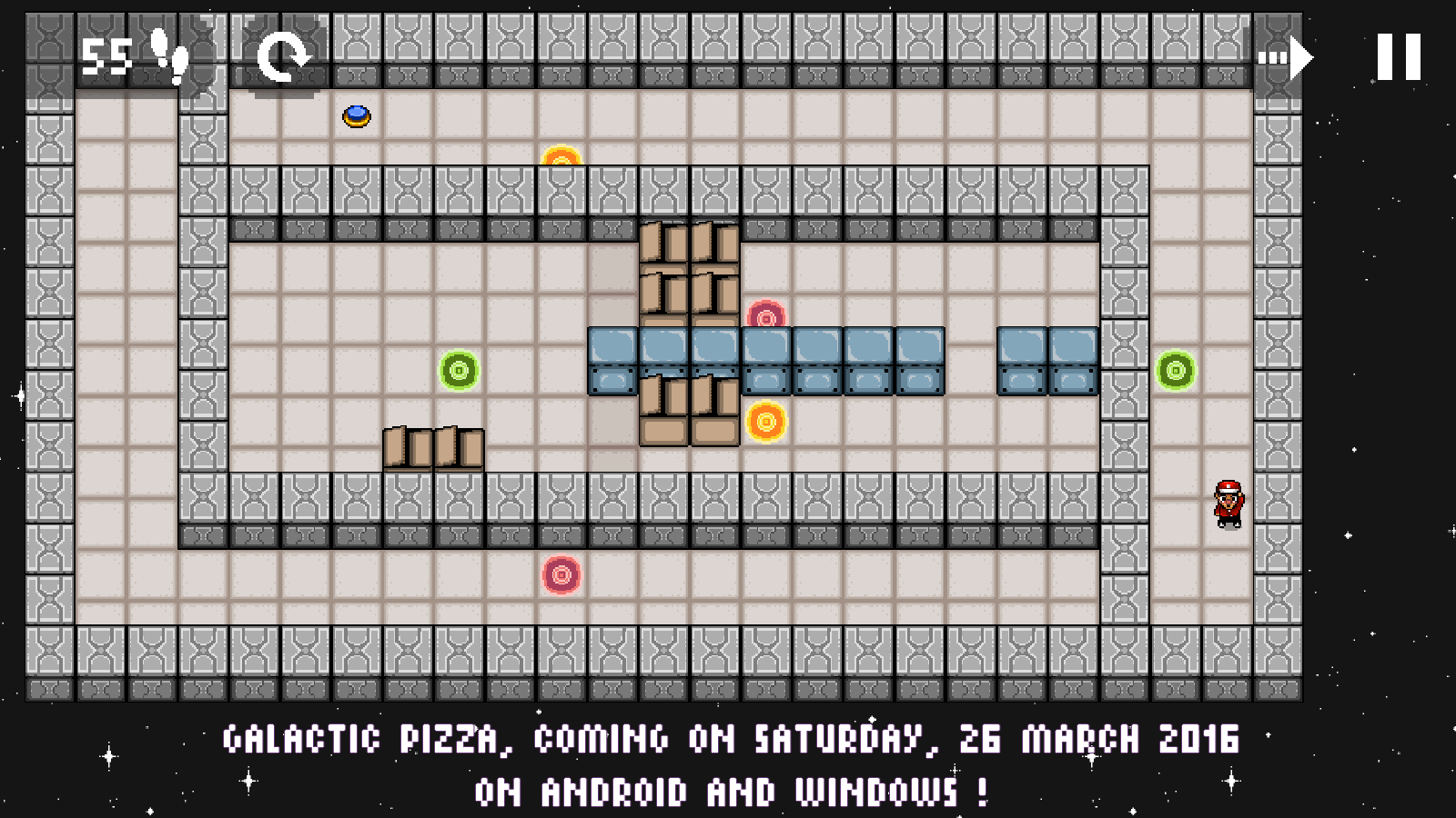 Galactic Pizza release date