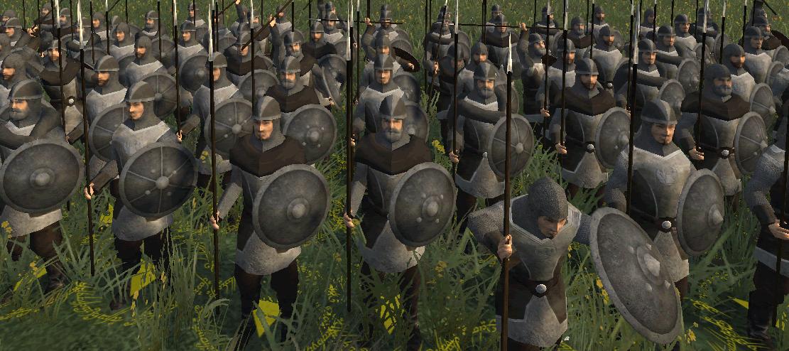 infantry spearmen