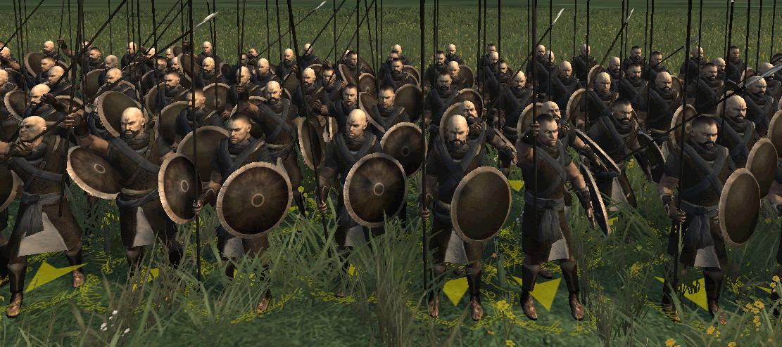 militia spearmen