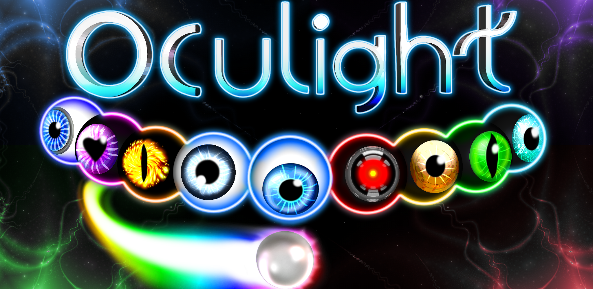 Main Title and all the oculights in formation.