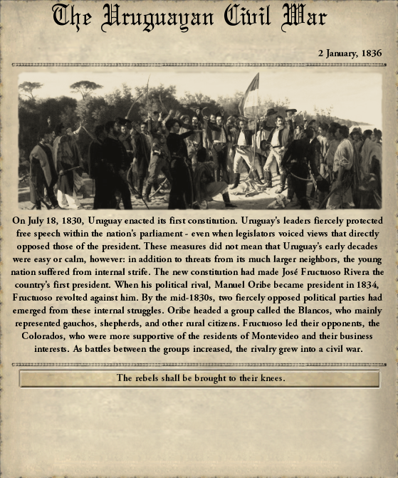 Uruguay Civil War