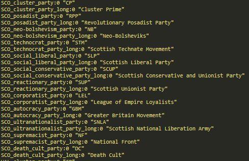 scotland ideologies