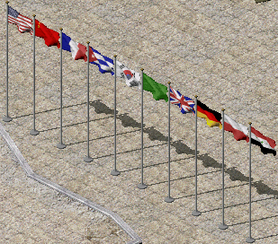 All the flags used in Yuri's Revenge have been remade.