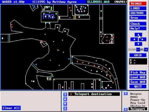 Old doom level editor