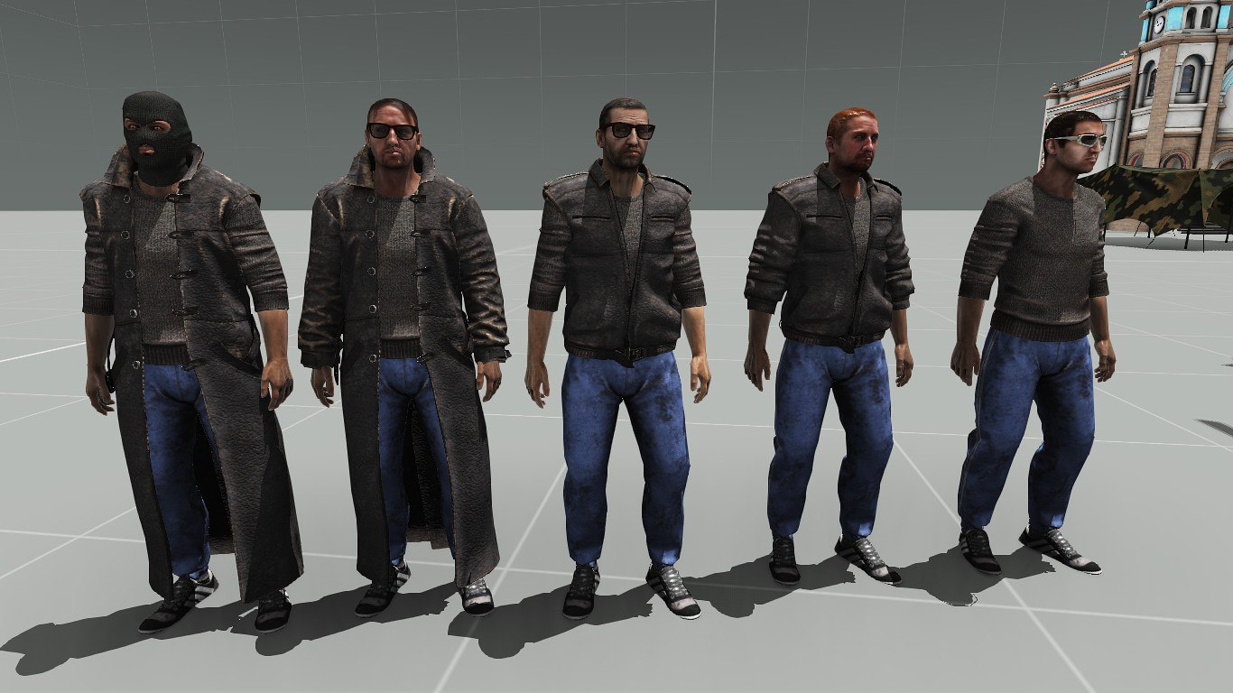 Walk In The Dark A Glimpse Into The Armstalker Rp Server besides Z5tQ9QXWoWw in addition New Boar Variant Wip Shown 172016 likewise  in addition Models For Bandits. on armstalker mod arma 3