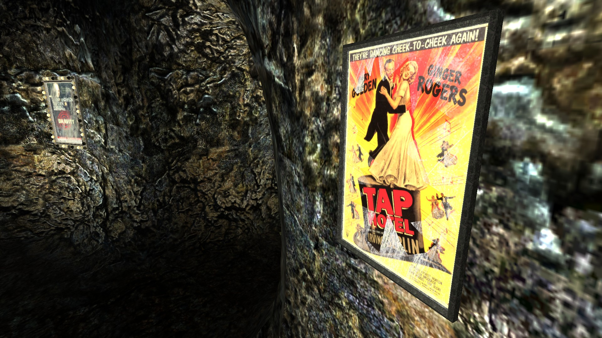 Poster in Gary's chamber has been replaced with Tap Hotel