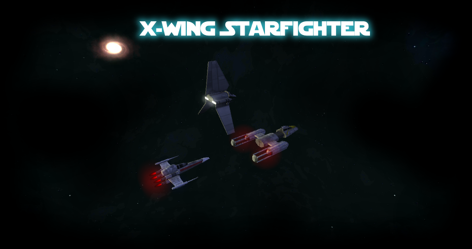 x wing starfighter screenshot