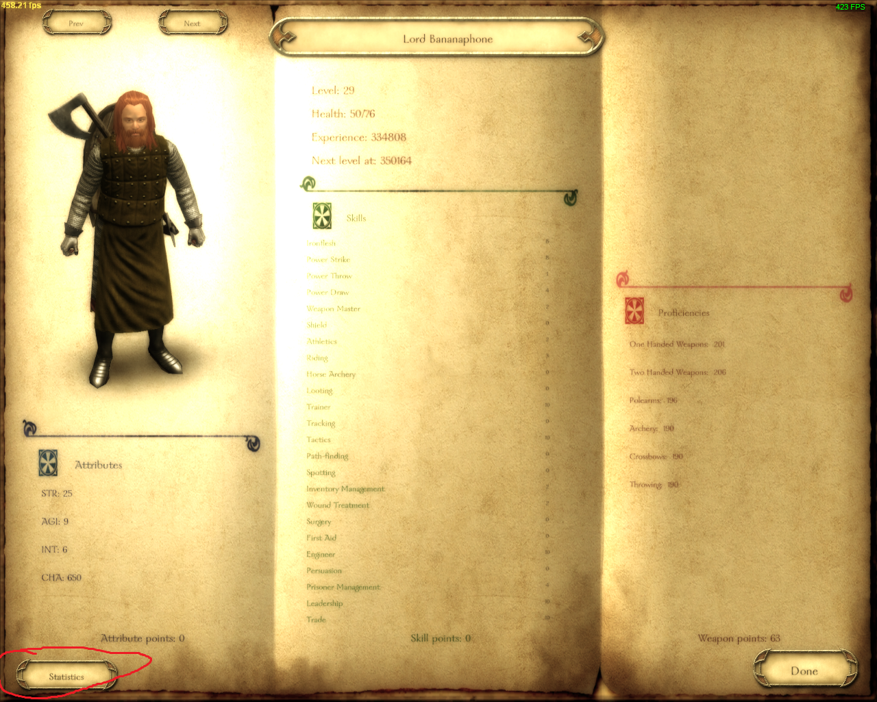 mount and blade warband character edit