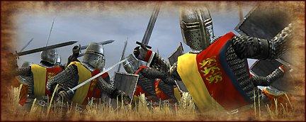 feudal foot knights